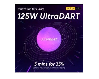 realme launches 125W UltraDART Flash Charging Solution