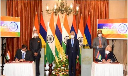 India and Mauritius sign Comprehensive Economic Cooperation and Partnership Agreement